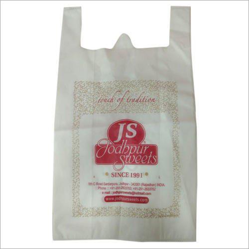 Printed W Cut Non Woven Bag