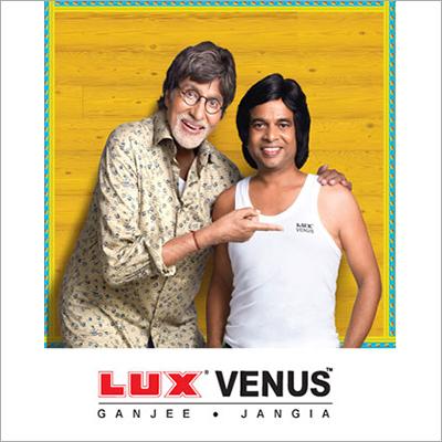 Lux Venus White Mens Vest