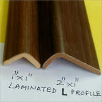Laminated Wooden L Profile