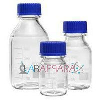 Reagent Bottle Clear Wide Mouth (Borosilicate Glass)