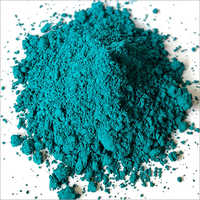 Blue Green Oxide Powder