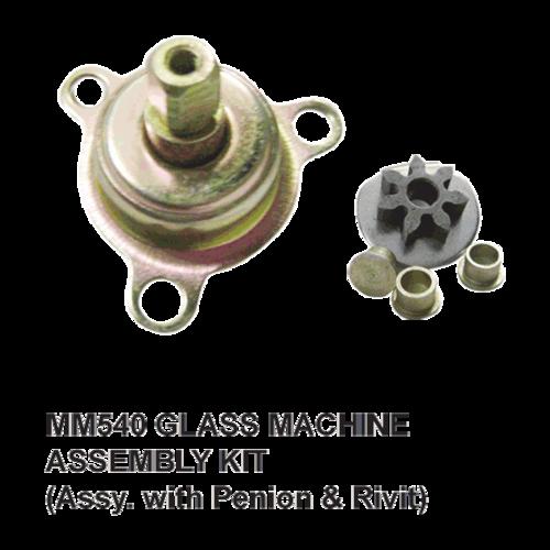 MM 540 GLASS MACHINE ASSSY. KIT.  (ASSY. WITH PENION & RIVIT)