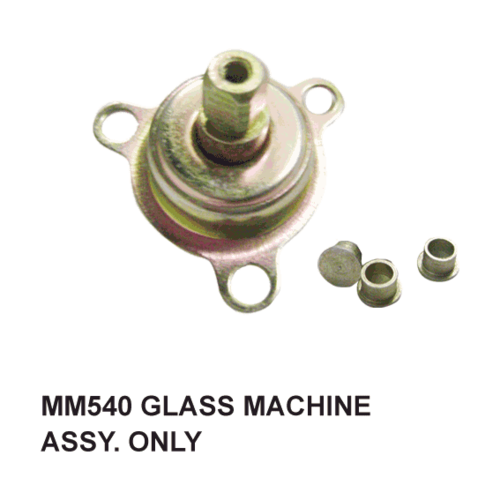 MM 540 GLASS MACHINE ASSY. ONLY.