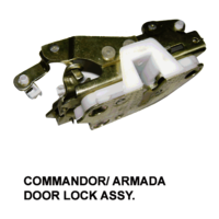 COMMANDOR / ARMADA DOOR LOCK ASSY
