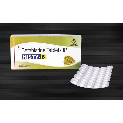 Betahistine Mesylate 8 Mg