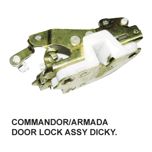 COMMANDOR / ARMADA DOOR LOCK ASSY. DICKY