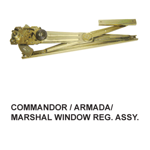 COMMANDOR / ARMADA / MARSHAL WINDOW REG. FRONT