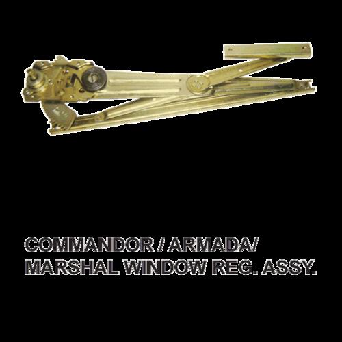 COMMANDOR / ARMADA / MARSHAL WINDOW REG. FRONT