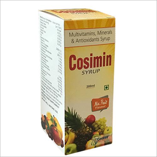 Multivitamins,Minerals and Antioxidants Sryup