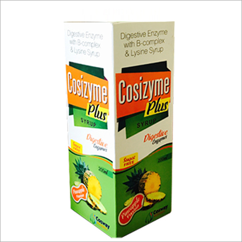 Digestive Enzyme with B-Complex and Lysine Syrup