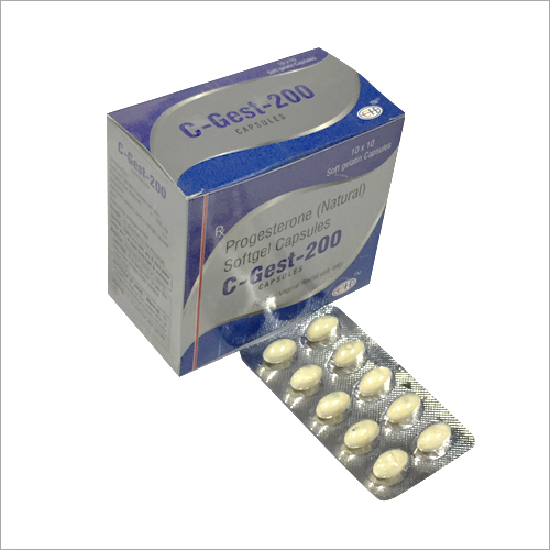 Progesterone Softgel Capsules