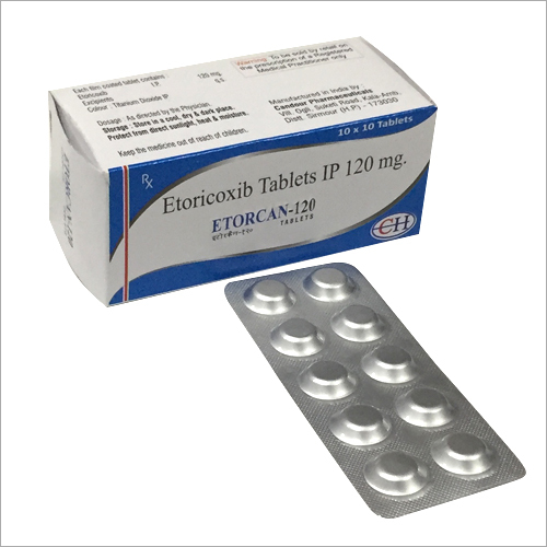 Etoricoxib Tablets IP 120 MG