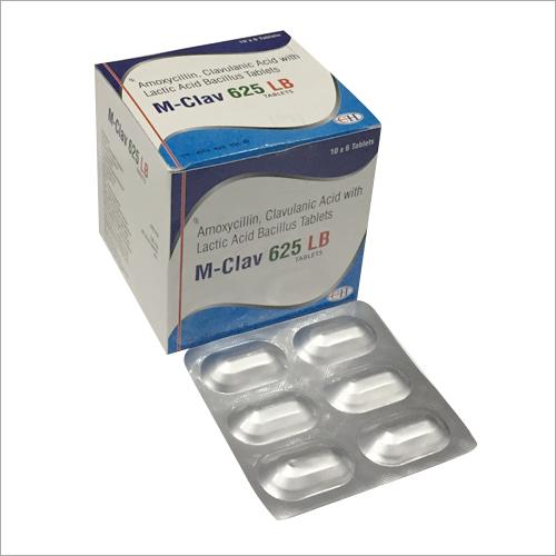 Amoxicillin Clavulanic Acid With Lactic Acid Bacillus Tablets