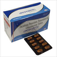 Diclofenac Potassium Paracetamol and Chlorzoxazone Tablets
