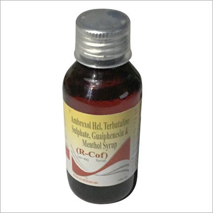 Guaiphenesin and Menthol Syrup