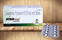 Doxylamine 10 Mg, Pyridoxine 10 Mg & Folic Acid 2.5 mg Tablets