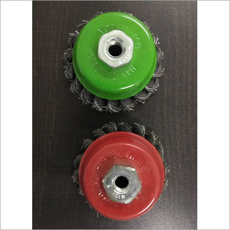 CUP BRUSH WHEEL