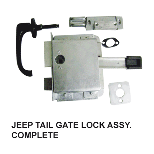 JEEP TAIL GATE DOOR LOCK