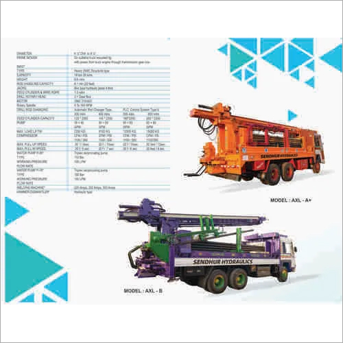 Kunnathur Automatic Water Well Drilling Rigs