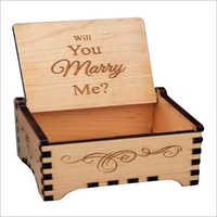 Laser Cutting Engraved Wooden Box