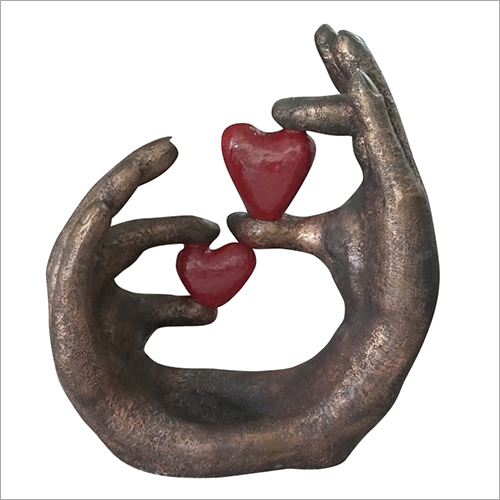 Heart in Hand Sculpture