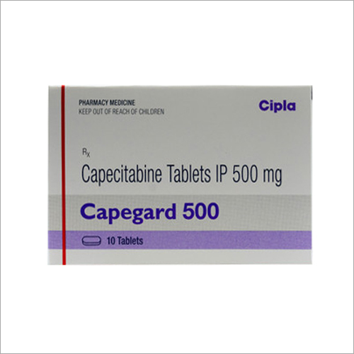 500 mg Capecitabine Tablets IP
