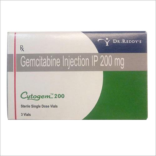 200 mg Gemcitabine Injection IP