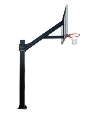 Basketball Post Fixed (Square Pipe)