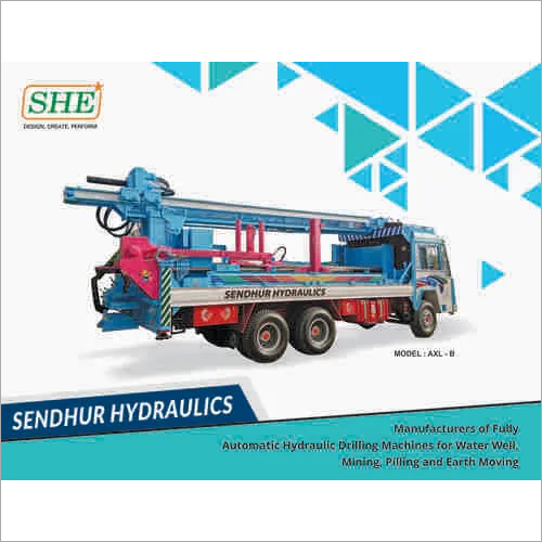 Paramathivelur Automatic Water Well Drilling Rigs