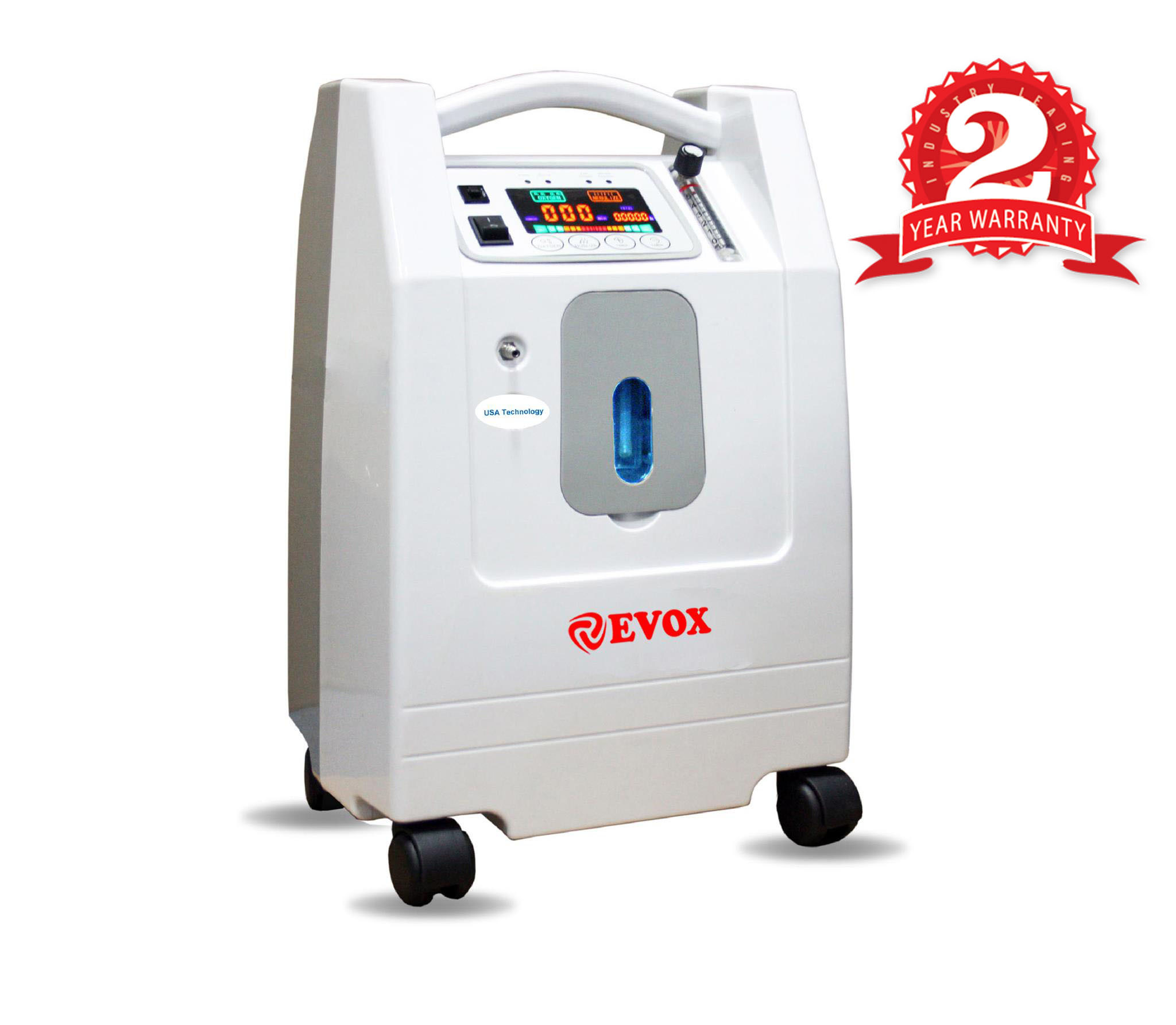 EVOX Oxygen Concentrator Battery Operated