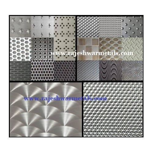 Stainless Steel Designer Silver Sheet
