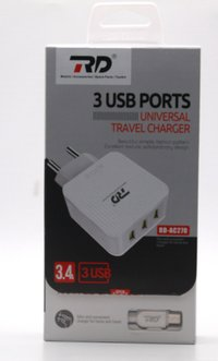 AC-270 3 port usb charger