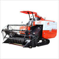 Plus Track Combine Paddy Harvester