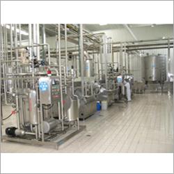 Industrial Milk Processing Plant