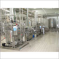Industrial Milk Processing Plant