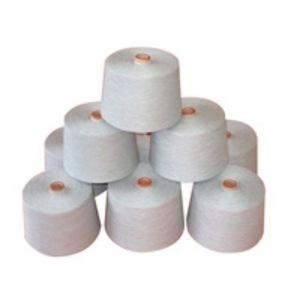 100% Cotton & Bleached Melange yarn
