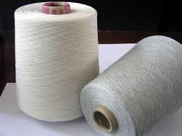 100% Polyester Melange Yarn
