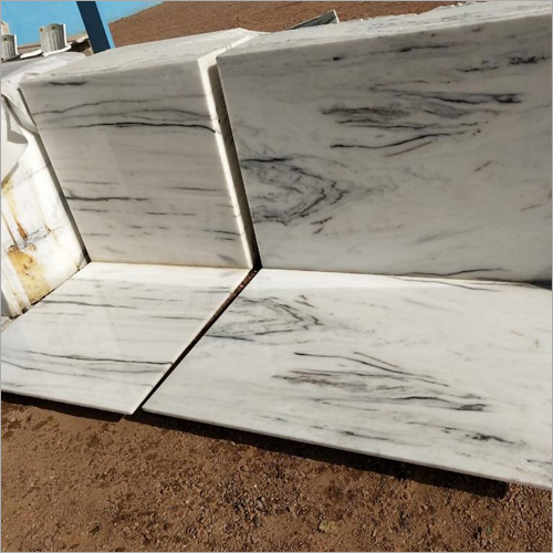 Makrana Albeta Pure White Marble Slab