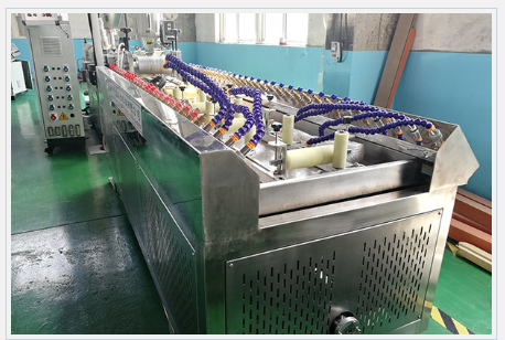 Wood Plastic WPC machine WPC decking co-extrusion line