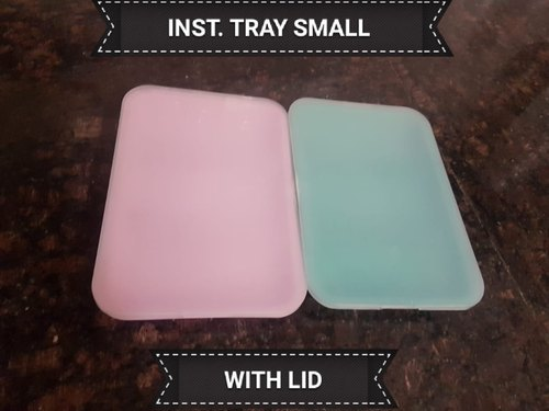 Plastic Instruments Tray with Lid