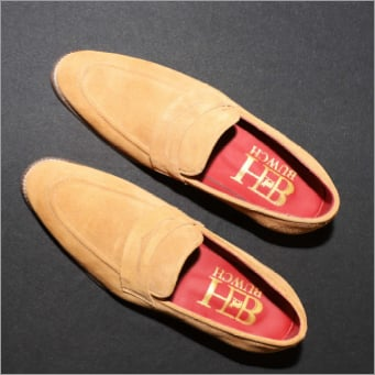 Black Suede Loafers Shoes
