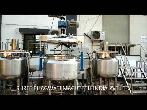 Herbal Natural Toothpaste Manufacturing Machine