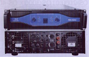 XB 3000 & 5000 & 8000 Dual Channel Power Amplifier