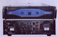 XB 3000 & 5000 & 8000 Dual Channel Power Amplifier