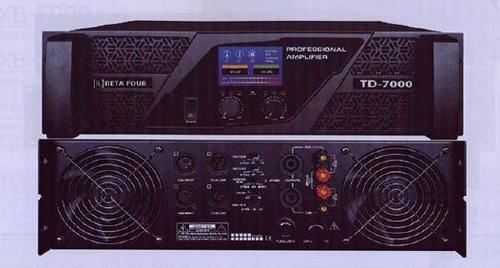 TD 7000 Dual Channel Power Amplifier