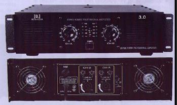 DJ 3.0 & 3.5 Dual Channel Power Amplifier