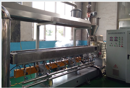 Plastic Recycling Machine Co Paraller Twin Screw Granulating Machine