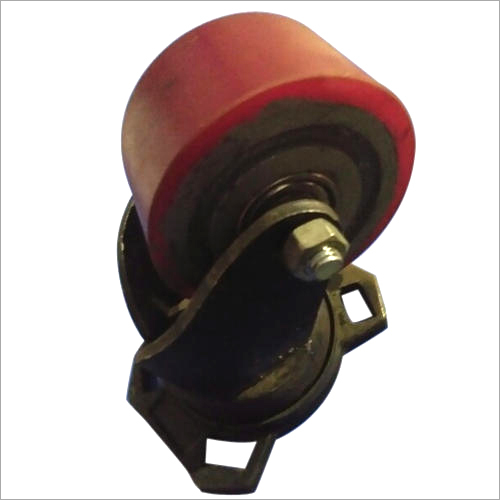 75 x 38 MM Red Trolley Caster Wheel