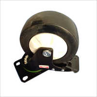100x32 MM PU Trolley Caster Wheel