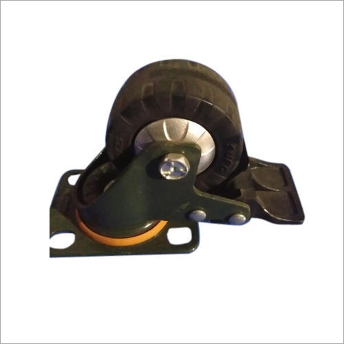 100x32 MM Polyurethane Trolley Caster Wheel
